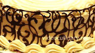 Смотреть онлайн Рецепт приготовления красивого торта Альпийский