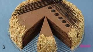 Смотреть онлайн Простой рецепт красивого торта, Пражский торт