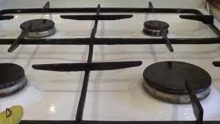 Отмываем содой самые трудные загрязнения плиты - Видео онлайн