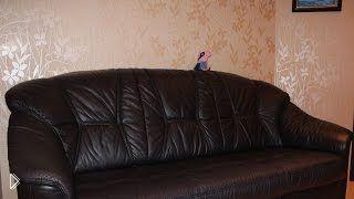 Смотреть онлайн Уборка в доме: как помыть кожаную мебель