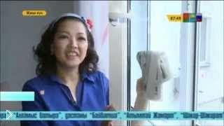 Смотреть онлайн Разные средства для мытья окон, как помыть окна