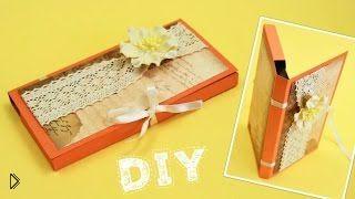 Красивая коробка для шоколадки своими руками - Видео онлайн