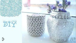 Смотреть онлайн DIY: подсвечник и ваза своими руками