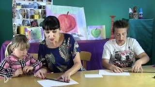 Смотреть онлайн Рисуем картины в стиле сюрреализма с детьми