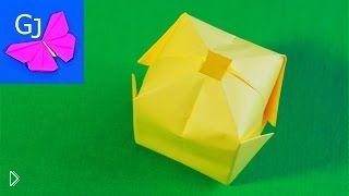 Как сделать водяную бомбочку из бумаги - Видео онлайн