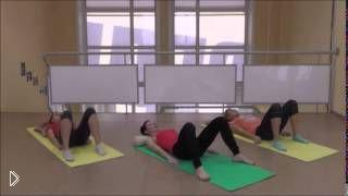 Смотреть онлайн Упражнения бодифлекс, занимаемся утром в кровати