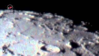 Смотреть онлайн Как выглядит Луна через телескоп
