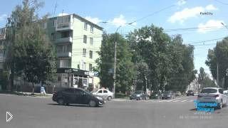 Смотреть онлайн Столкновение маршрутки и БМВ Х3, Брянск