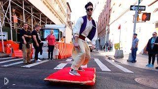 Смотреть онлайн Волшебный розыгрыш: Аладдин на улицах Нью Йорка