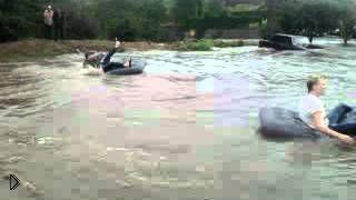Смотреть онлайн Потоп в Ростове-на-Дону в сентябре 2014