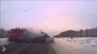 Смотреть онлайн Смертельная авария на трассе из Казани в Менделеевск