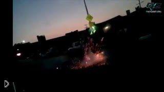 Смотреть онлайн Подборка: Опасные взрывы фейерверков