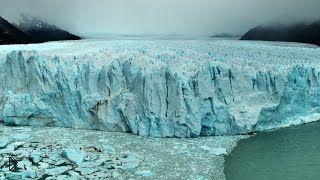 Дикая природа Патагонии: ледник Перито Морено - Видео онлайн
