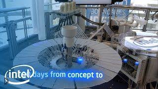 Смотреть онлайн Разработка Intel: робот исполняющий музыку