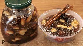 Смотреть онлайн Янтарное варенье из винограда без косточек