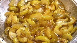 Смотреть онлайн Способ приготовления яблочного варенья дольками