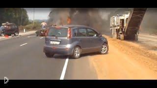 Смотреть онлайн Люди сгорели заживо в жуткой аварии