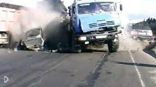 Смотреть онлайн Подборка: У грузовиков отказали тормоза