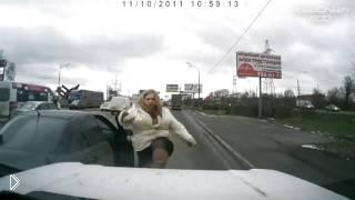 Смотреть онлайн Подборка: Безумные ситуации на дорогах