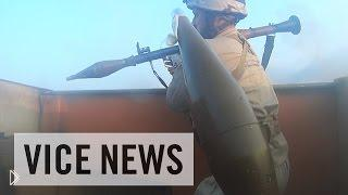 Смотреть онлайн Террорист одел камеру Го Про и пошел воевать