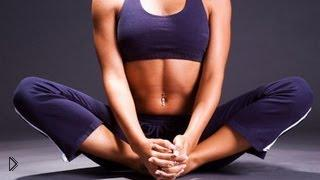 Смотреть онлайн Фитнес для девушек: растяжка для шпагат