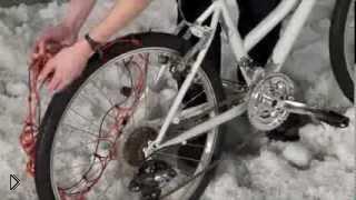 Смотреть онлайн Необычные аксессуары для любого велосипеда