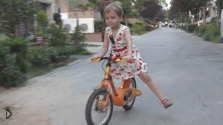 Смотреть онлайн Правила катания на велосипеде для детей