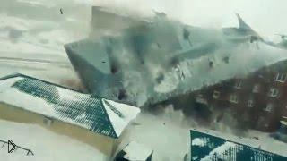 Смотреть онлайн Подборка: Мощные ураганы, которые были в России