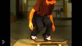 Смотреть онлайн Трюки на скейтборде в замедленной съемке