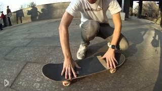 Смотреть онлайн Как сделать кикфлип на скейтборде