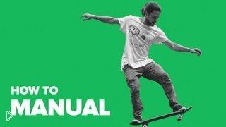 Смотреть онлайн Учимся делать Manual на скейтборде