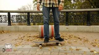 Смотреть онлайн Как сделать прыжок на скейте с разворотом на 360