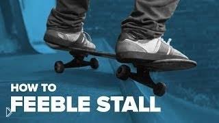 Смотреть онлайн Как сделать фибл, скейтбординг