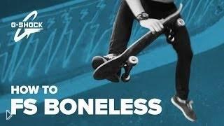 Смотреть онлайн Обучение трюку fs boneless