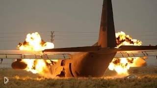 Смотреть онлайн Подборка: Крушения самолетов после взлета