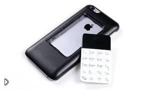Смотреть онлайн Кнопочный телефон встроенный в айфон