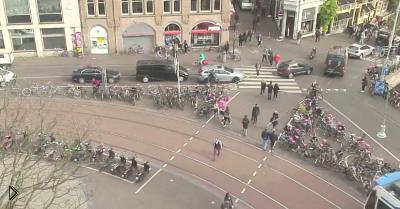 Смотреть онлайн Прямая трансляция площади в Амстердам