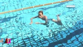 Смотреть онлайн ТОП 5 необычных стилей плавания