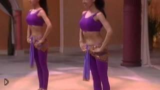 Тренировка пресса и рук с помощью танца живота - Видео онлайн