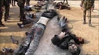 Смотреть онлайн Реальный бой с террористами из Сирии