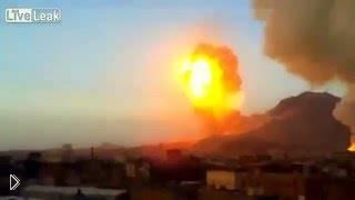 Смотреть онлайн Подборка: Мощные российские бомбы атакуют Сирию
