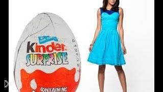 Смотреть онлайн Самое большое шоколадное яйцо в мире