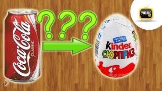 Как сделать из Кока Колы киндер сюрприз - Видео онлайн