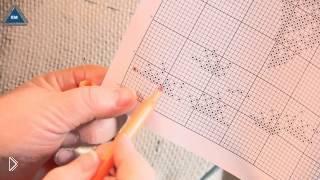 Смотреть онлайн Особенности вышивания крестиком по схеме