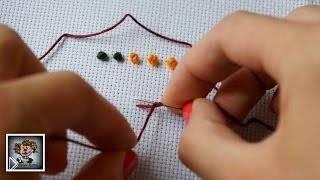 Смотреть онлайн Чем заменить Французский узелок в вышивке крестиком