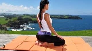 Смотреть онлайн Первый урок йоги для начинающих
