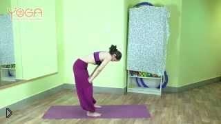 Смотреть онлайн Дыхательные упражнения с животом в йоге