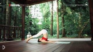 Смотреть онлайн Особенности позы плуга в йоге, паршва халасана