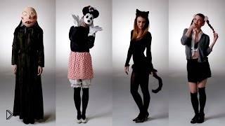 Смотреть онлайн Идеи и образы костюмов в Хэллоуин для девушек