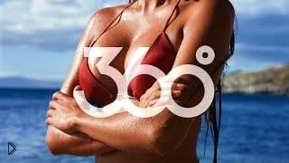 Смотреть онлайн Подборка: Девушки ходят перед камерой 360 градусов
